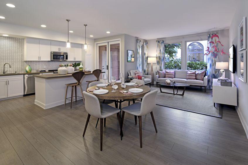 Interior views at Malibu - Villas Playa Vista Apartment Homes in Los Angeles, CA.