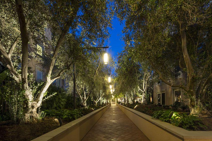 Exterior views of Malibu - Villas Playa Vista Apartment Homes in Los Angeles, CA.