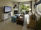 Interior view of living room at Cherry Orchard Apartment Homes in Sunnyvale, CA.