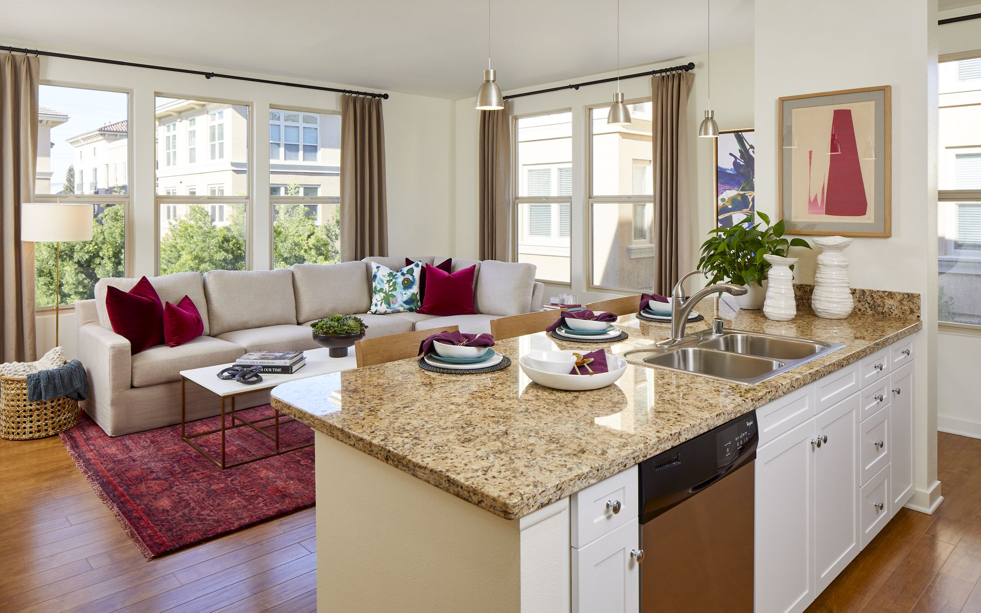Crescent Village In San Jose 1 3 Bedroom Studios
