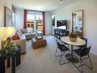 Living and Dining room in Laurels at Northpark Apartment Homes