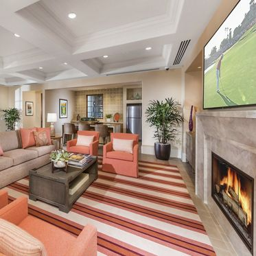 Interior view of Clubhouse at Anacapa Apartment Homes in Irvine, CA.