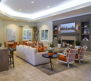 Interior view of Brittany Apartment Communities in Irvine., CA.