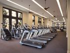 Interior view of fitness center at Centerpointe at Irvine Spectrum Apartment Homes in Irvine, CA.