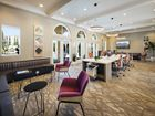 Interior view of business center at Umbria Apartment Homes at Cypress Village in Irvine, CA.