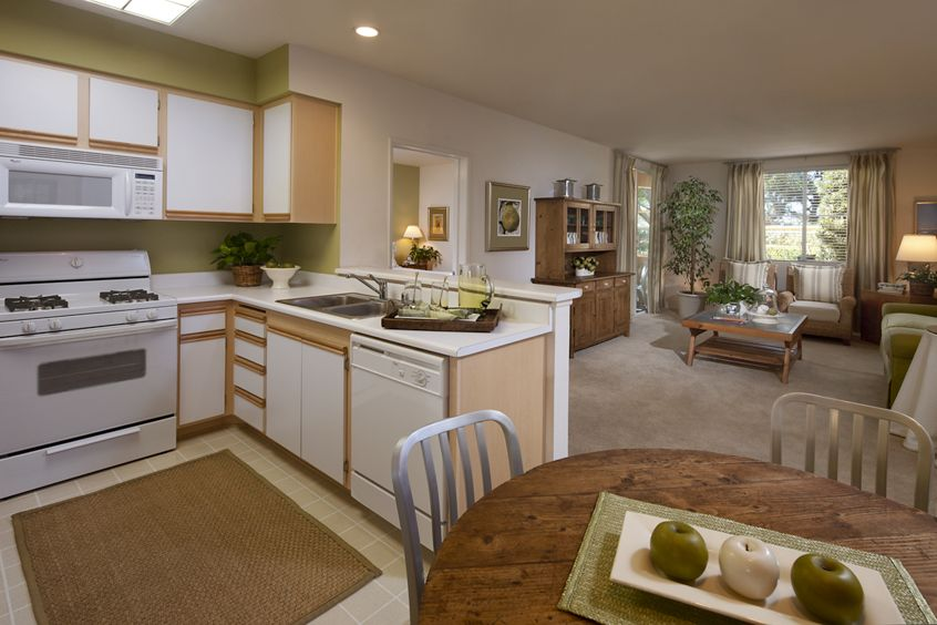 Interior view of Las Palmas Apartment Homes. Lamb 2012. Shared drive submission - June 11, 2012.