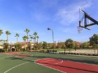 Exterior view of basketball court at Los Olivos Apartment Homes at Irvine Spectrum in Irvine, CA.