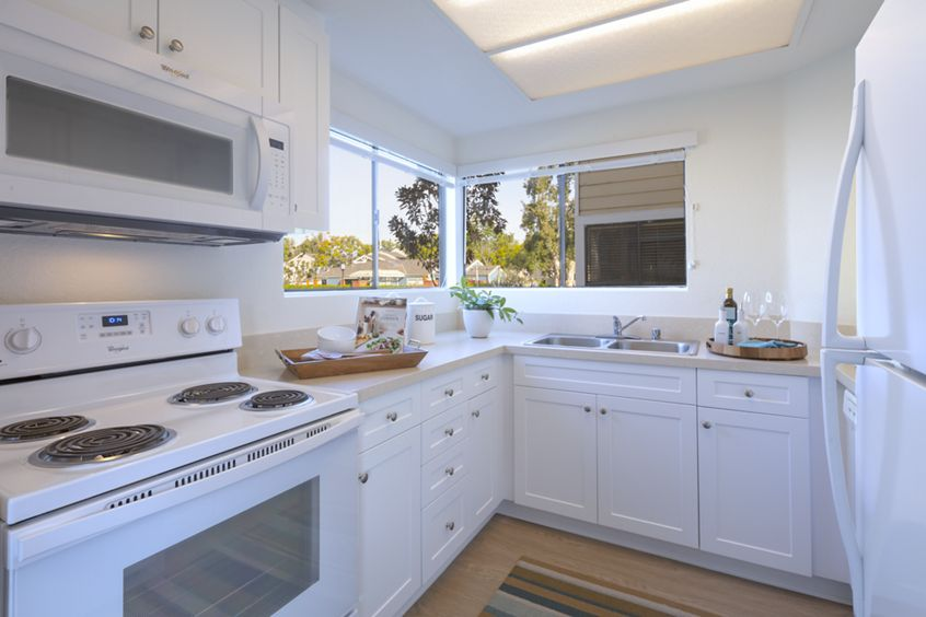 Interior view of at Northwood Park Apartment Homes in Irvine, CA.