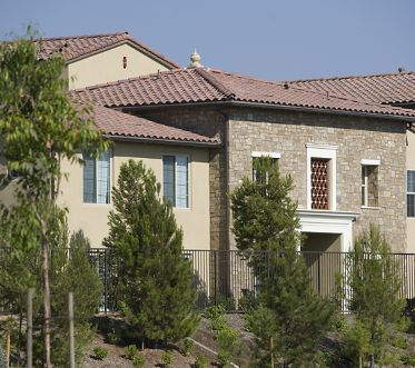 Exterior view of Orchard Hills Apartment Homes in Irvine, CA.