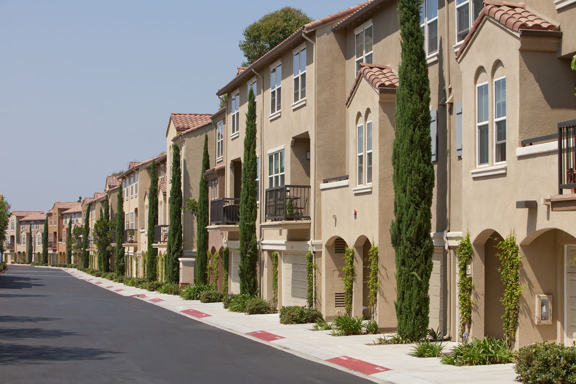 Exterior view of Quail Ridge Apartment Homes at Quail Hill in Irvine, CA.