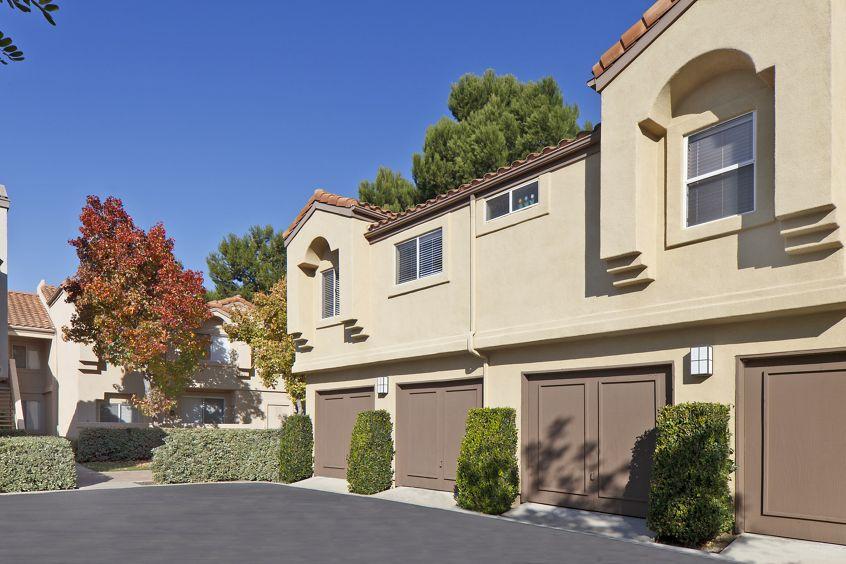 Exterior view of San Carlo Villa in Irvine, CA.