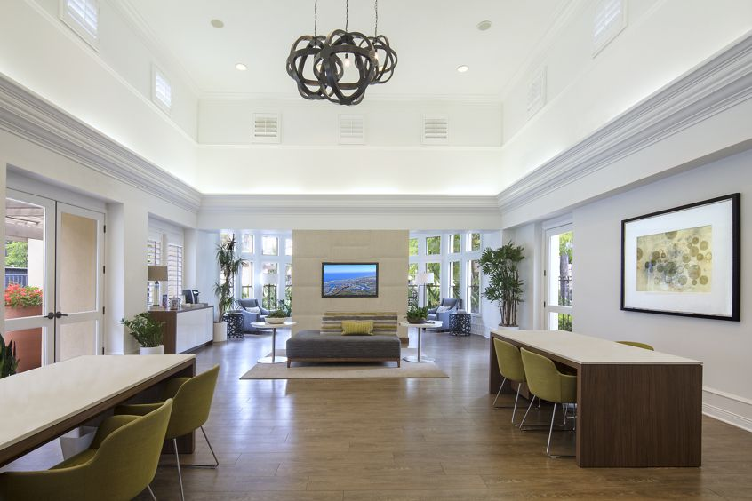 Interior view of San Mateo Apartment Communities in Irvine, CA.