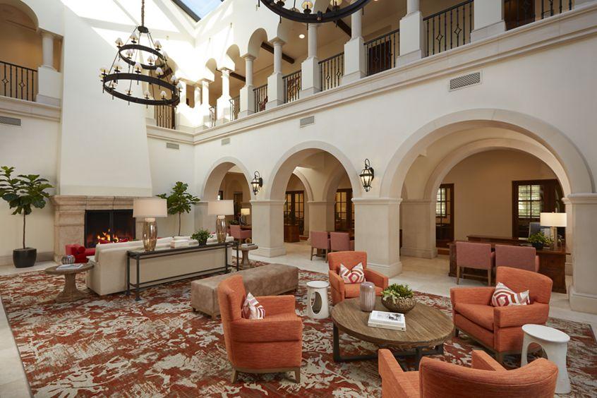 Interior view of Leasing Center at The Park at Irvine Spectrum Apartment Homes in Irvine, CA.