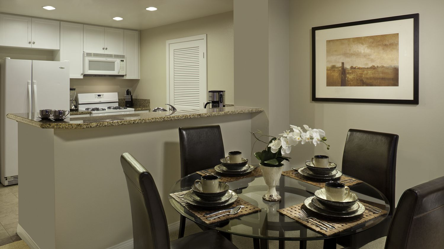 Interior shots of the Mirador rooms at The Village at the Irvine Spectrum. Lamb 2012.