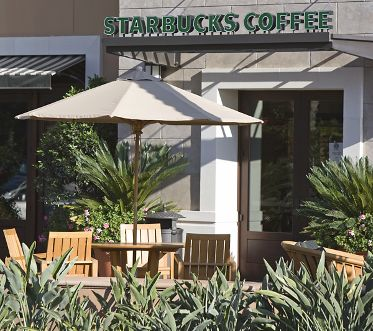 Starbucks on-site at The Village at Irvine Spectrum in CA