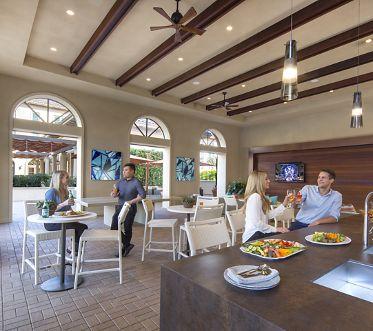 Outdoor lounge area at Westview Apartment Homes in Irvine Spectrum, CA