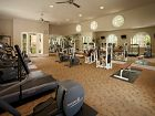 Interior view of fitness center at Woodbury Square Apartment Homes in Irvine, CA.