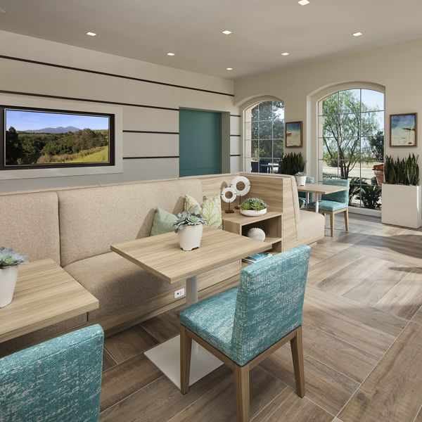 Interior view of Las Flores Apartment Homes in Ranch Santa Margarita.