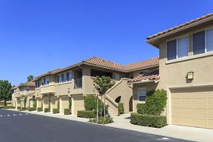 Exterior View Of Rancho Santa Fe Apartment Homes In Tustin.