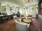 Interior view of business center iLounge at Sierra Vista Apartment Homes in Tustin, CA.
