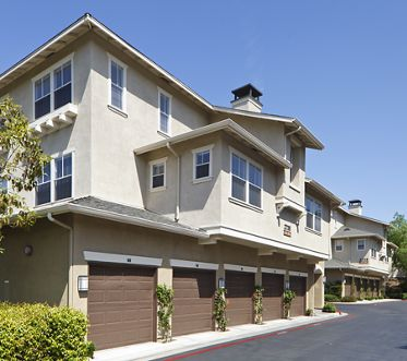 Exterior view of Arcadia at StoneCrest Village Apartment Homes in San Diego, CA.