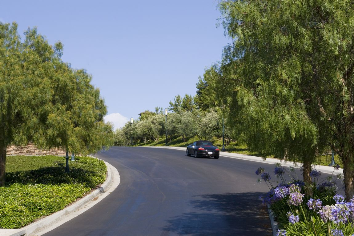 Street view at Torrey Ridge Apartment Homes in Carmel Valley, CA.