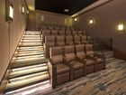 Interior view of theater room at Torrey Villas Apartment Homes in San Diego, CA.