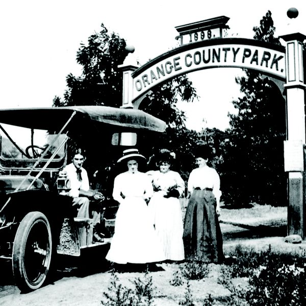 Historical images of Irvine Regional Park.