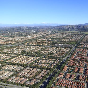 Aerials of North Irvine. Lamb 2013.