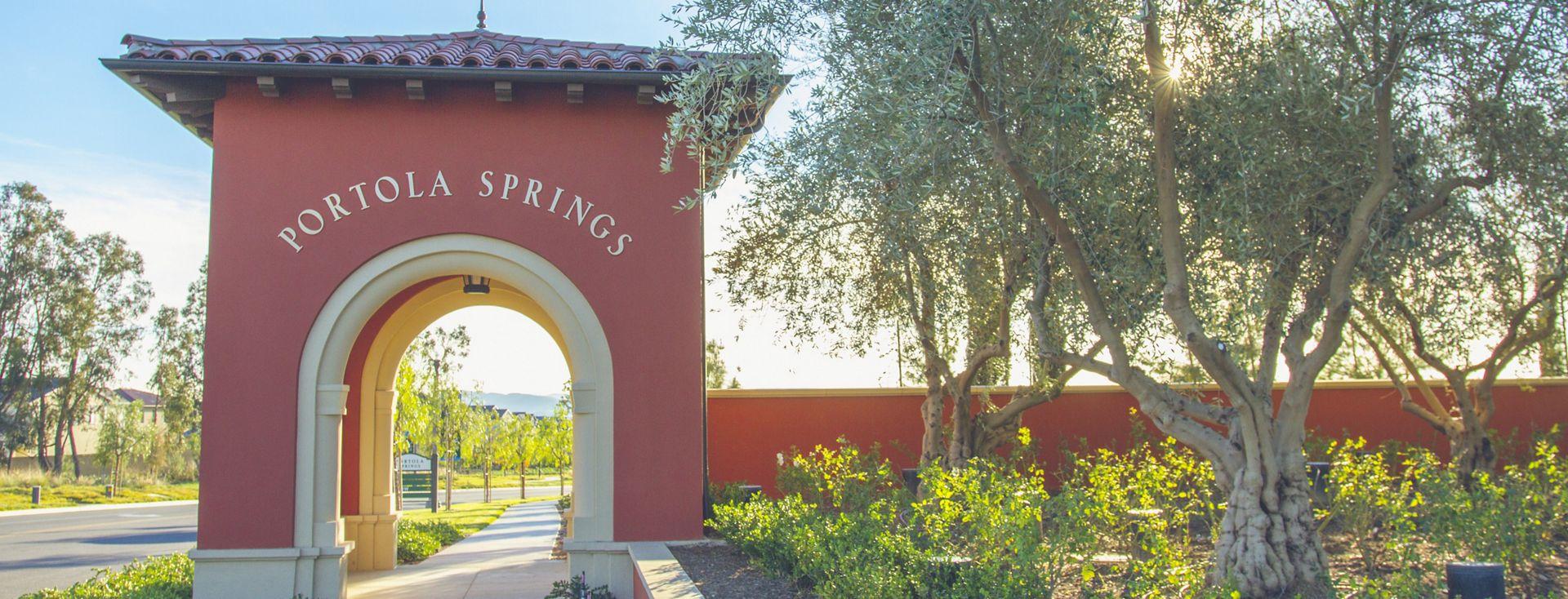 General views of parks in Portola Springs community. Vu 2015.