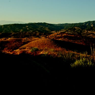 Images of Loma Ridge from Southern California Coastal Mountains to the Sea book. Stoecklein 2011.