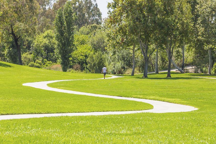 Exterior view of William Mason Park in Irvine, CA.
