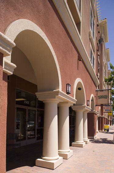Franklin Street Apartment Homes Exterior views. Lamb 2007.