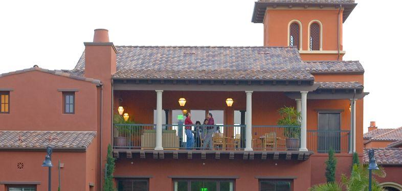 Portola Place Apartment Homes Exterior views. Lamb 2007.