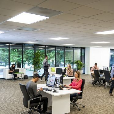 Lifestyle photography of the ReadyNow office located at Santa Clara Park at Freedom Circle - 3900 Freedom Circle, Suite 240 in Santa Clara, CA