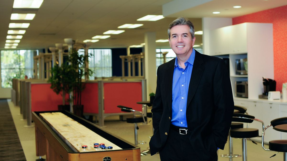 Customer testimonial photography for MavenLink in Irvine, CA