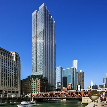 300 North LaSalle, Location: Chicago IL, Architect: Pickard Chilton