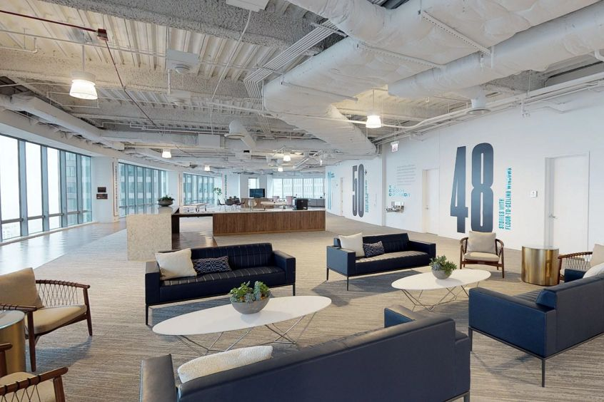 Matterport thumbnail image for 71 South Wacker, Suite 3300.