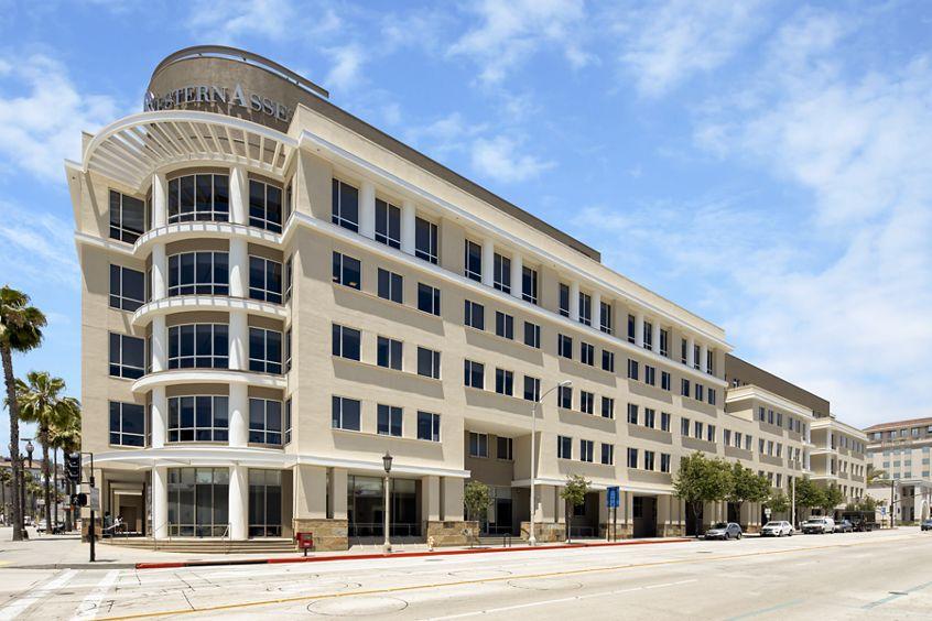 Building hero photography of Western Asset Plaza - 385 East Colorado Boulevard in Pasadena, CA