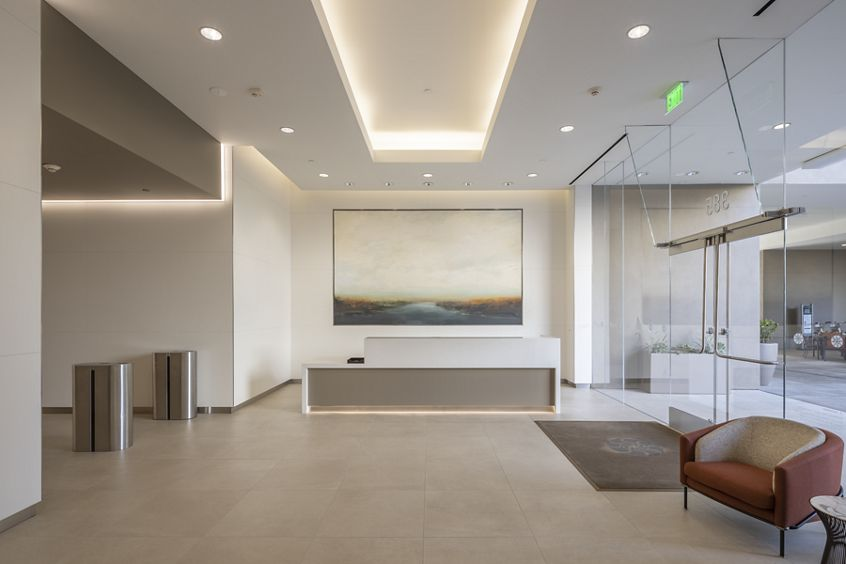 Interior view at 385 East Colorado Boulevard, Pasadena, Ca