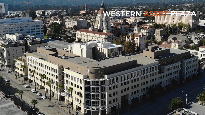 Video thumbnail of Western Asset Plaza at 385 East Colorado Blvd. in Pasadena, CA