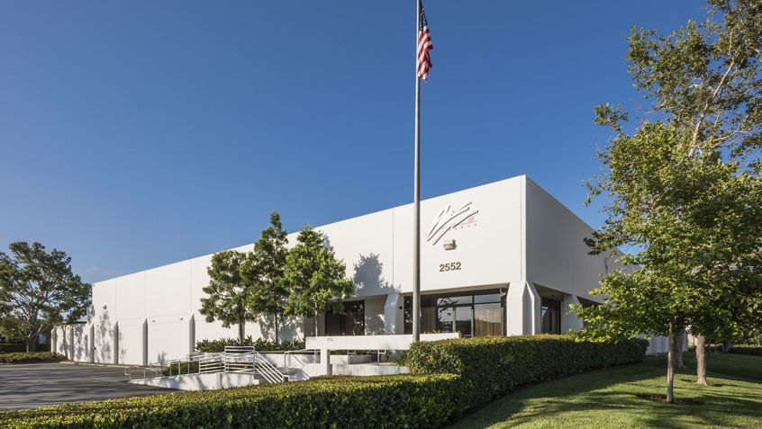 Exterior view of 2552 McGaw office building.