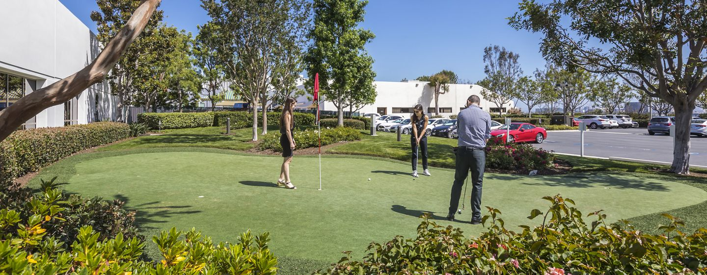Photography of putting green at Camelback, Newport Beach, Ca