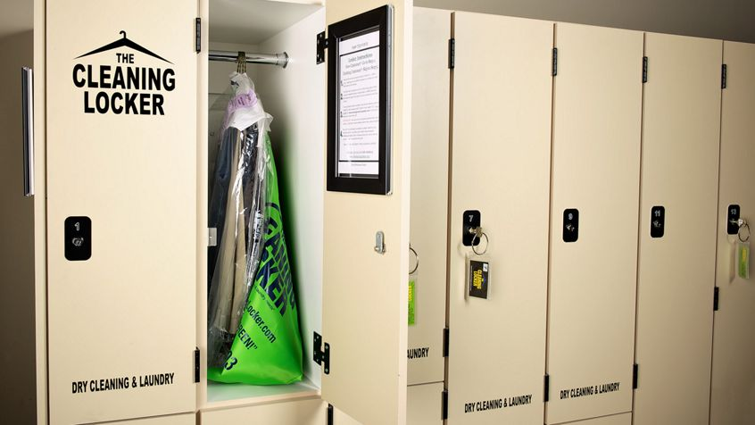 The Cleaning Locker at Irvine Towers.
