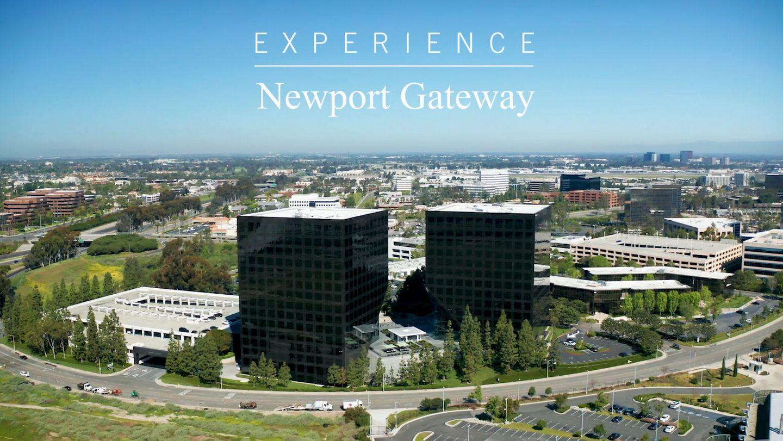 Video still of Newport Gateway aerial in Irvine, CA.