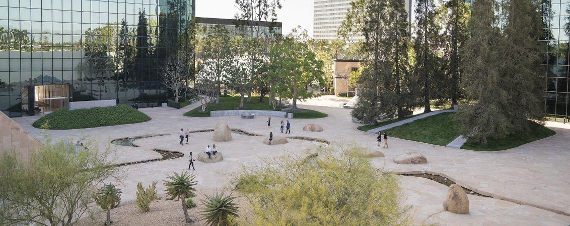 Photography of California Scenario at Pacific Arts Plaza, Costa Mesa, CA