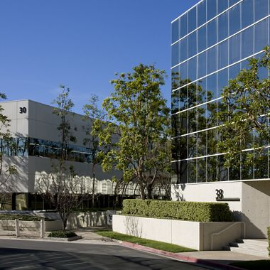 Exterior views of the Executive Park office buildings. Moore 2009.