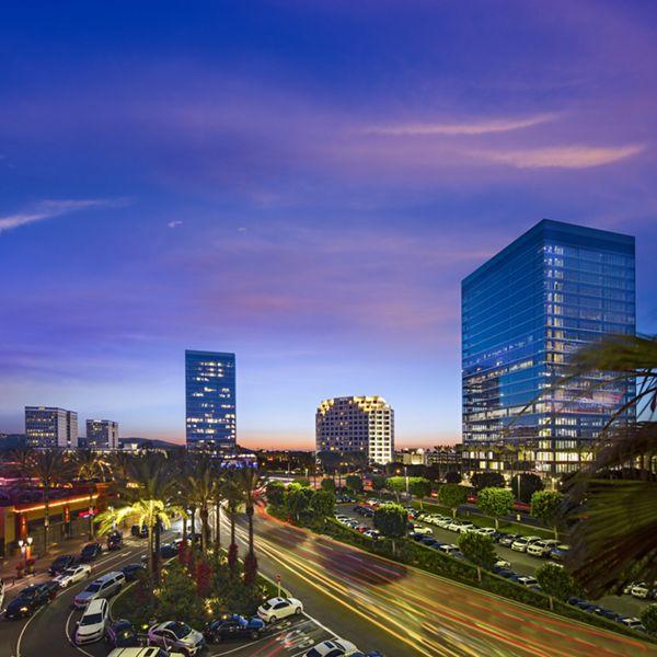 Photography of Spectrum Skyline, Irvine Spectrum Center, Irvine, California