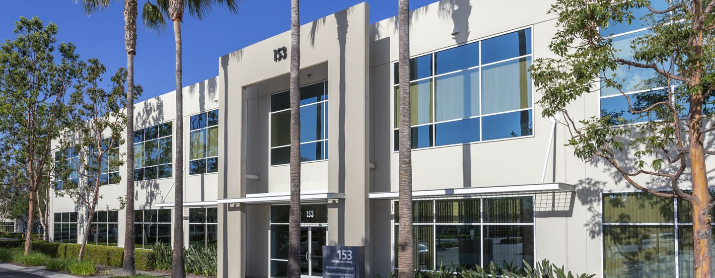 Exterior building photography of 153 Technology at Corporate Business Center in Irvine, CA