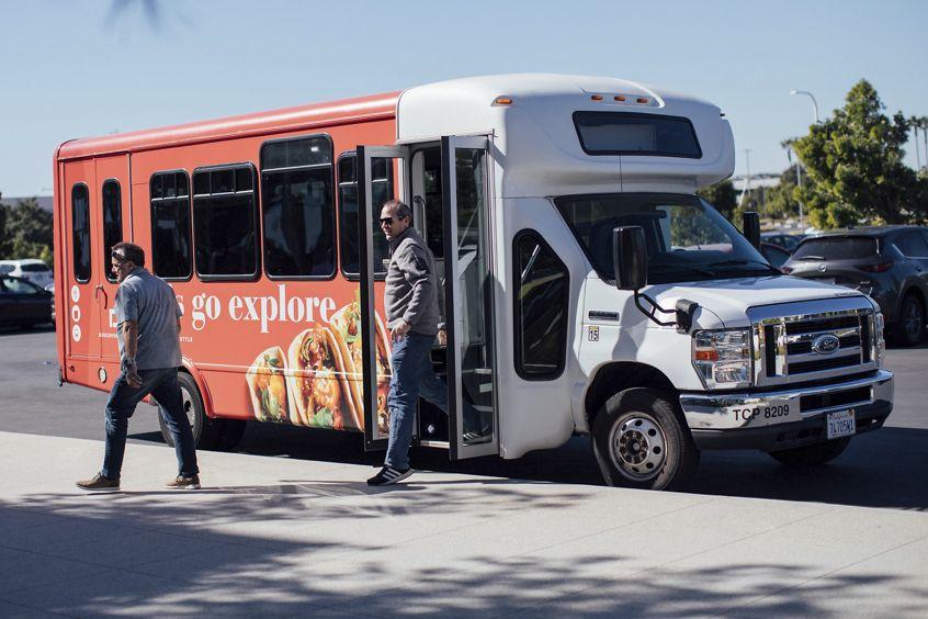 Discovery Park Let's Go Explore Shuttle Passenger